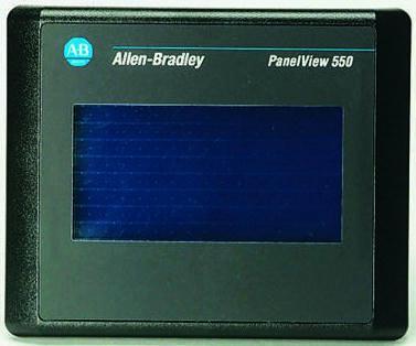 Allen Bradley PanelView 550 Series Touch-Screen HMI Display 120 x 60 mm LCD  256 x 128pixels