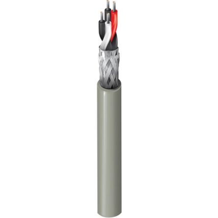 Belden 2 Pair Screened Multipair Industrial Cable 0.2 mm²(Euroclass Dca-s2 d2 a1) Chrome 304m RS-485 Series