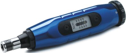 Lindstrom 1/4 in Hex Adjustable Torque Screwdriver, 50 → 450Ncm