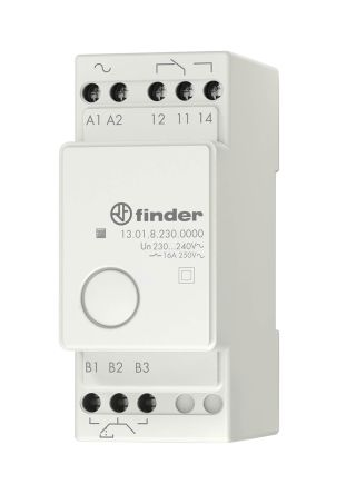 Finder SPDT Non-Latching Relay DIN Rail, 230V ac Coil, 16 A on