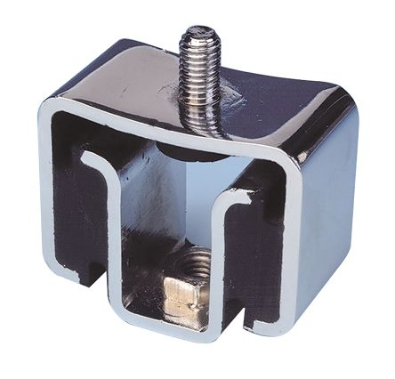 Paulstra Anti Vibration Mount 8 → 10Hz 53561145 Rubber Galvanised Metal 10 → 52daN 60mm M8 Male Only