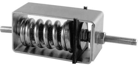 Paulstra Anti Vibration Mount 3.5 → 6Hz VE 111-04 Stainless Steel Galvanised Steel 12 → 33kg 180mm 33daN