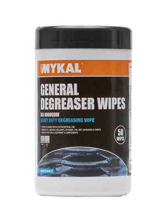 50 Wipes Fast Drying Degreaser Tub for Cleaning And Degreasing product photo