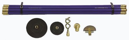 RS PRO Drain Rod Set for use with Drains