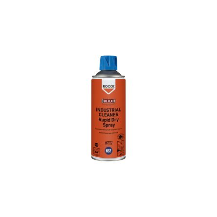 Rocol 300 ml Aerosol Multi Purpose Cleaning Spray,Food Safe for Metal, Paint, Plastic