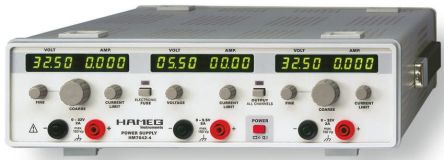 Hameg HM7042-5 Digital Bench Power Supply, 3 Output 0 → 32 V, 0 → 5.5 V 0 → 2 A, 0 → 5 A