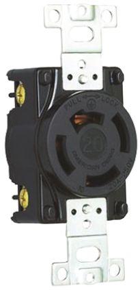 American Denki Japanese Mains Sockets NEMA 5 - 15R, 20A, Cable Mount, 250 V ac