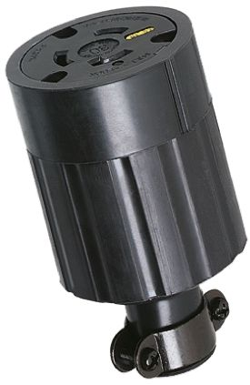 American Denki USA Mains Sockets NEMA L5 - 30R, 30A, Cable Mount, 125 V ac