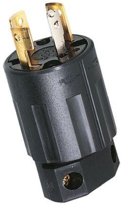 American Denki USA Mains Plug NEMA L15 - 30P, 30A, Cable Mount, 250 V ac