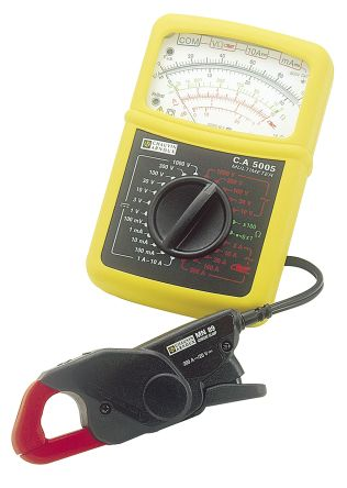 Chauvin Arnoux C.A 5005 Analogue Multimeter 300A ac/dc 1000V ac/dc