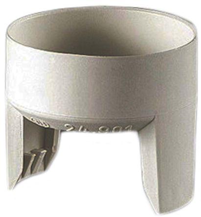 Moulded BC cap lampholder plastic shroud