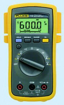 1641500 fluke 110 digital multimeter handheld 600v ac 600v dc rs rh uk rs online com Digital Multimeters Manufacturer Fluke 112 True RMS Multimeter
