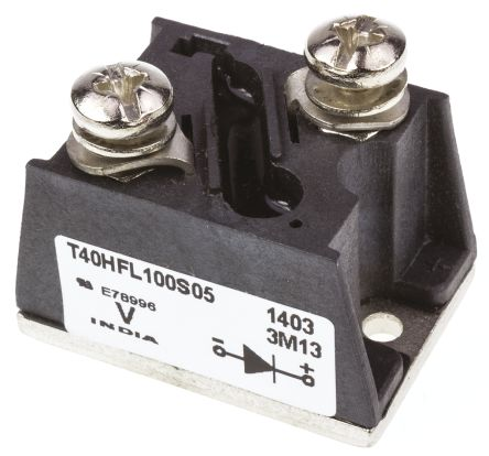 Vishay VS-T40HFL100S05 Switching Diode Module, 1000V 40A, 2-Pin T-Module