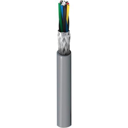 Belden 5 Pair Screened Multipair Industrial Cable 0.07 mm²(Euroclass Eca) Chrome 30m