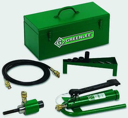 Greenlee Ram & Foot Pump Hydraulic Driver Kit Machine Press