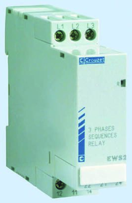 Crouzet Phase Monitoring Relay With 2NO/2NC Contacts, 230 → 440 V ac, 3  Phase