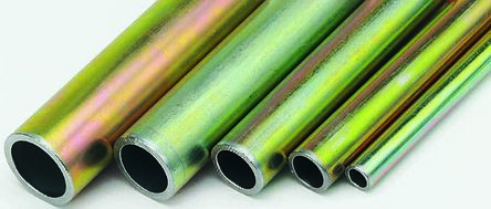 2m Zinc Plated Steel Hydraulic Tubing, 1.5mm Wall Thickness, 345 bar, -40 to +120°C product photo