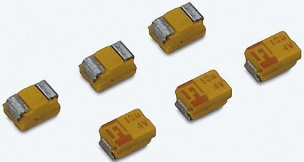AVX 10μF 20V dc Tantalum Capacitor MnO2 Solid ±10% Tolerance TAJ Series