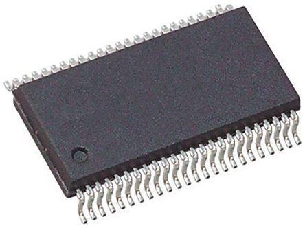 Toshiba TC74LCX16244AFT, Quad, Bus Buffer, 6.2 ns @ 2.7 V 24mA, 48-Pin TSSOP