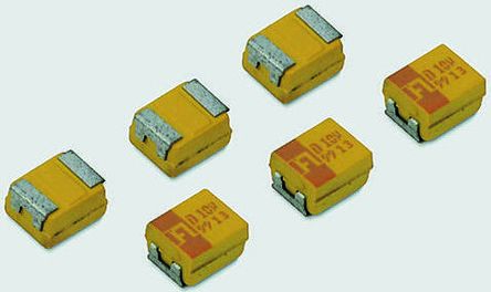 AVX Tantalum Capacitor 4.7μF 20V dc MnO2 Solid ±10% Tolerance TPS Series