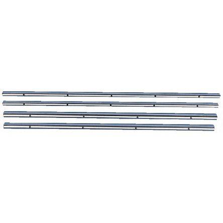 1.2m Long Steel Closed Bush Shaft, 20mm Shaft Diam. , Hardness 60 -> 64HRC, h6 Tolerance product photo