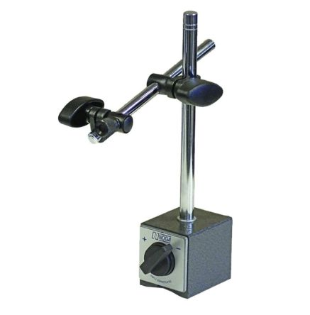 Fine adjustment linear magnetic base