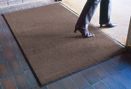 Entraplush Anti-Slip, Door Mat, Carpet, Indoor Use, Grey, 600mm 900mm 7mm product photo