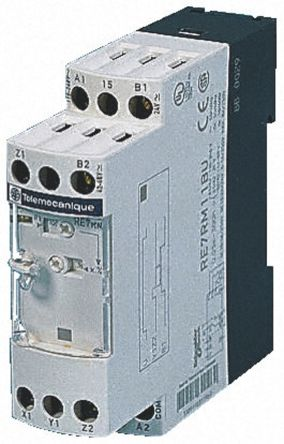 R4236736 01 re7ma11bu single time delay relay, screw, 0 05 s → 300 h, spdt schneider electric time delay relay wiring diagram at virtualis.co