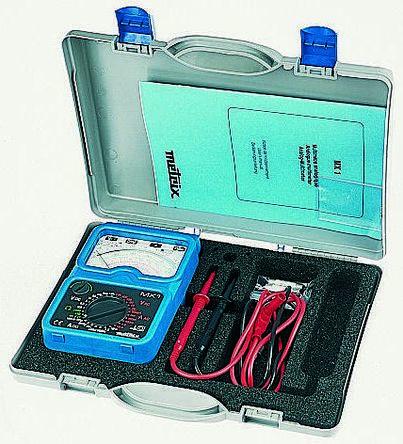 Metrix MX 1 Analogue Multimeter 10A ac/dc 1.5kV ac/dc, With RS Calibration