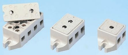 Wieland NonFused Terminal Block 2 WayPole Screw Down Terminals