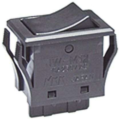 NKK Switches Single Pole Double Throw (SPDT), Latching Rocker Switch Panel  Mount