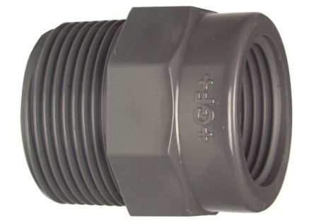 721910842 Straight Reducer PVC Pipe Fitting, 13mm dia. product photo