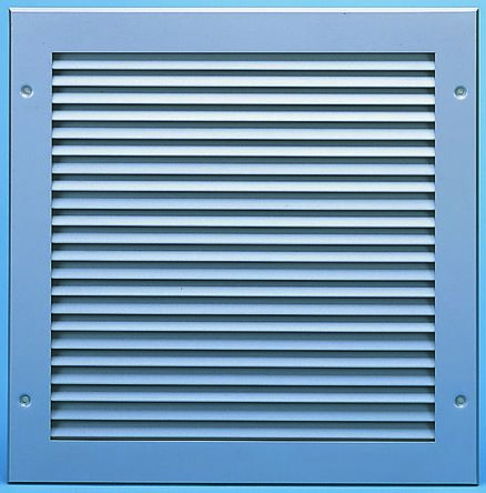 Silver Aluminium Vent Grille, 497 x 497mm product photo