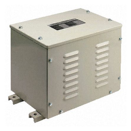 10kVA Enclosed Autotransformer, 380 V, 400 V, 415 V Primary, 380 V, 400 V, 415 V Secondary product photo