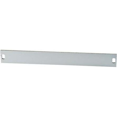 19-inch Front Panel, 3U, 10hp, Grey, Aluminium product photo
