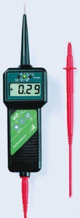 Model METRAOHM 413 Ohm Meter, Maximum Resistance Measurement 1999 kO product photo