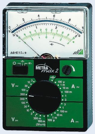 METRAmax 2 Analogue Multimeter 3A ac/dc 300V product photo