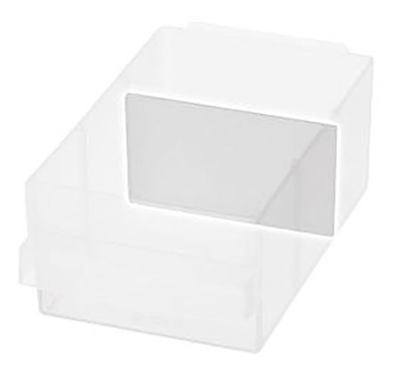 Raaco Clear Drawer Dividers, 49mm x 87mm x 2mm
