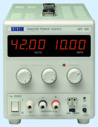 Bench Power Supply EX1810R Digital 180W, 1 Output 0 -> 18V 10A With UKAS Calibration product photo