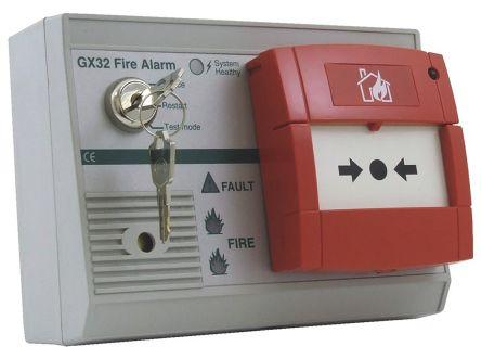 Auto Reset Fire Alarm Control Panel