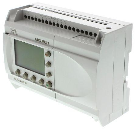 Alpha 2 Logic Module, 24 V dc, 8 x Input, 6 x Output With Display product photo