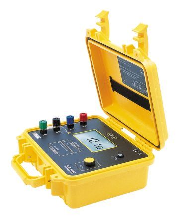 Chauvin Arnoux CA 6460 Earth & Ground Resistance Tester 1.999kΩ