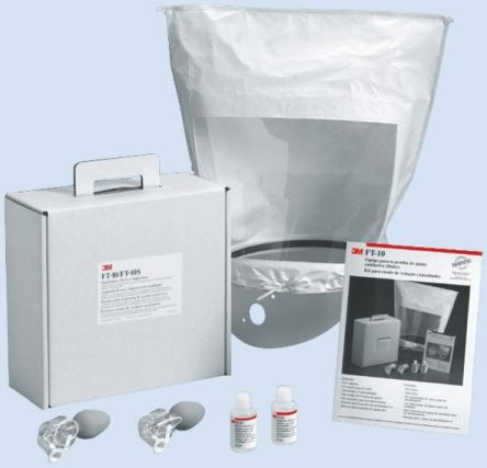 Bitter Testing Kit Containing Fit Test Solution, Hood & Collar, Instructions, Nebuliser x 2, Sensitivity Solution product photo