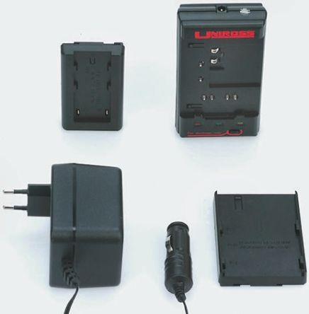 Uniross Batteries Battery Pack Charger for Lithium-Ion, NiCd, NiMH batteries, EURO Plug