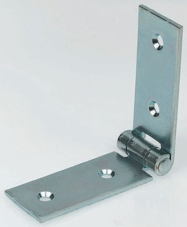 Zinc Plated Steel Strap Hinge, 140mm x 30mm x 2 5mm | Pinet | RS Components  UAE