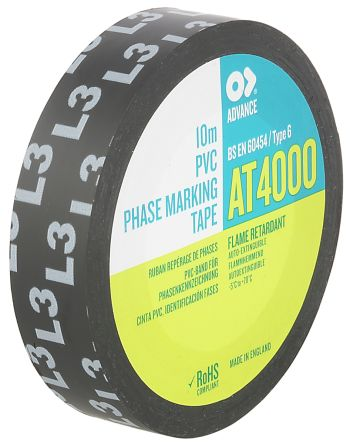 Black Electrical Tape, 15mm x 10m product photo