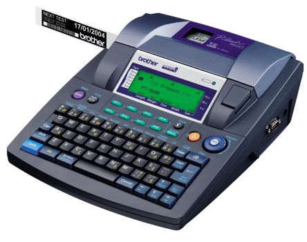 BROTHER PT-9600U1 Label Printer with QWERTY Keyboard, UK Plug | BROTHER |  RS Components UAE