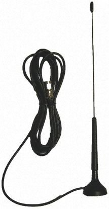 GSM20-ANT RF Solutions - 2G (GSM/GPRS) Antenna, Magnetic Mount, SMA