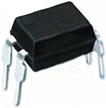 Toshiba, TLP361JF DC Input Triac Output Optocoupler, Through Hole, 4-Pin DIP 100