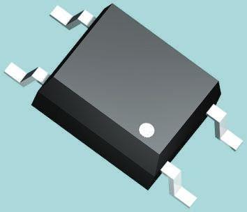 Toshiba, TLP161JTPL,U,C,F DC Input Phototriac Output Optocoupler, Surface Mount, 4-Pin MFSOP6 150